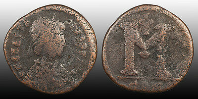 Anastasius Follis Constantinople mint 498-507 AD Sear 14 - Cheap Beginner Coin
