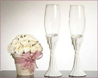 Fairytale Castle Theme Toasting Glasses. Unknown. Brand New