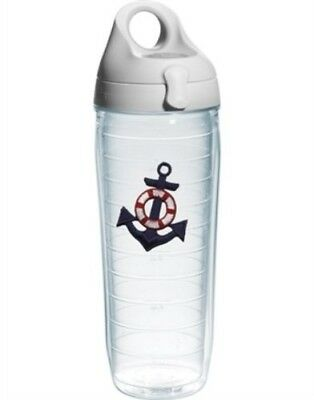 Tervis Tumbler Anchor Blue Water Bottle - 710ml. Shipping is Free