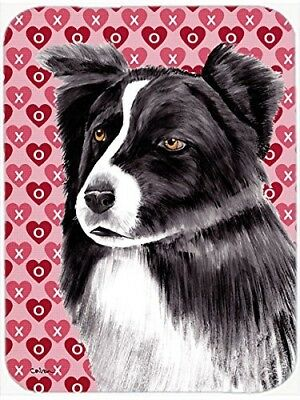 (Love and Hearts) - Caroline's Treasures Border Collie Hearts Love and