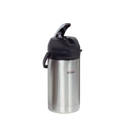 BUNN 32130 3.0 Litre Lever-Action Airpot, Stainless Steel. Best Price