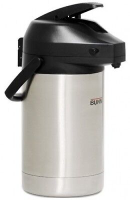 Bunn Commercial 3.0l 3020ml Lever Action Stainless Steel Airpot Carafe -