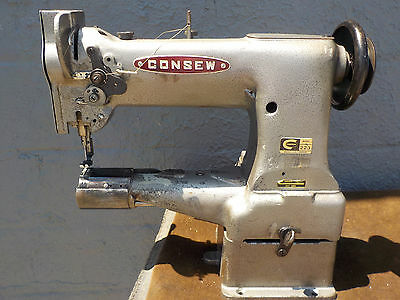 Industrial Sewing Machine Model Consew 223 ,cylinder, Leather