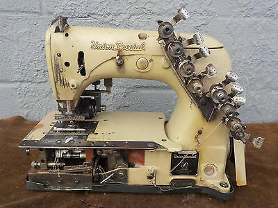 Industrial Sewing Machine Union Special 54-400 J-with rear puller- 12 needle