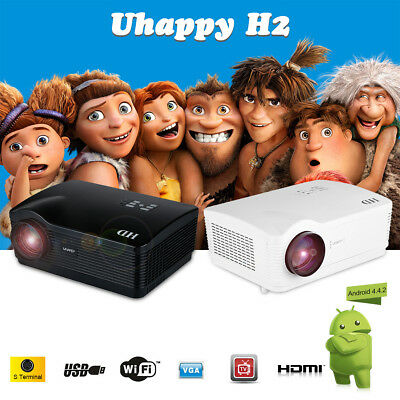 5000 Lúmenes Full HD 1080P Zoom LED LCD VGA DTV SD HDMI Home Teatro Proyector 3D