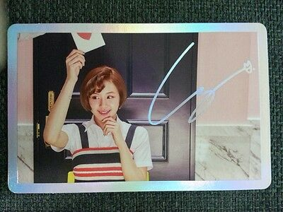 TWICE CHAEYOUNG Official PHOTOCARD Holo SIGNAL 4th Mini Album Photo Card 채영