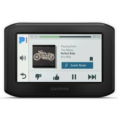 "GARMIN Motorcycle Navigation ZUMO 346 GPS Slim Design Live Traffic 4.3"" display"