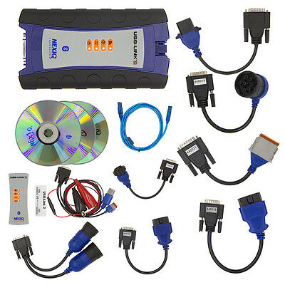 NEW NEXIQ 2 USB Link Heavy Duty Truck Diagnostic Scanner 124032 FREE SHIPPING