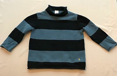 Crewcuts Toddler Baby Boy Blue Striped Sweater Size 3T