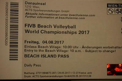 2 Tickets für FIVB Beach Volleyball World Championships 2017