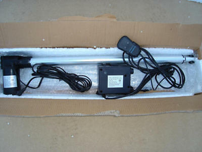 700mm stroke linear actuator with manual control box.