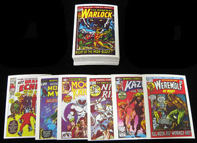 Marvel Superheroes - First Issue Covers - Complete Card SET (60) 1984 - NM