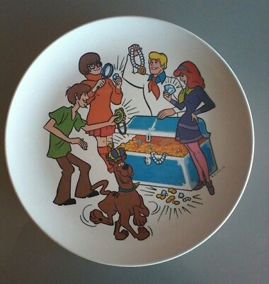 Scooby Doo & The Gang~ Plate~ 1972 H.S.P