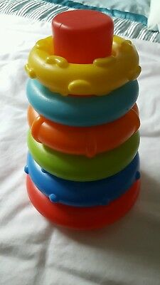 Baby hoop stacking toy