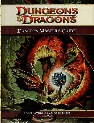 Dungeons & Dragons-D&D-DUNGEON MASTER´S GUIDE-RULEBOOK-(HC)-engl.-new-very rare