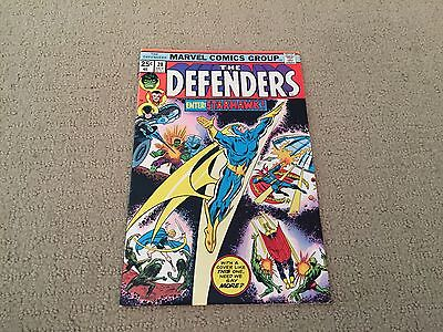 Defenders #28 HIGHER GRADE 1st Starhawk  Guardians Of The Galaxy 2 Free Ship