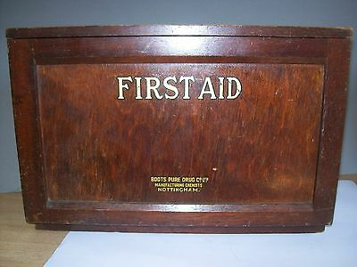 1930 Boots First Aid Box