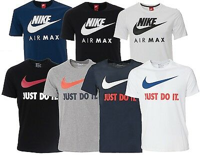 eaa9d7848c New Nike Mens Retro Gym Sports Air Max Tee T-Shirt Vintage Top Size S M L