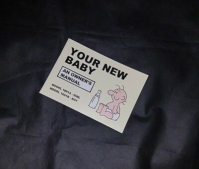 Your New Baby: An Owners Manual By Martin Baxendale