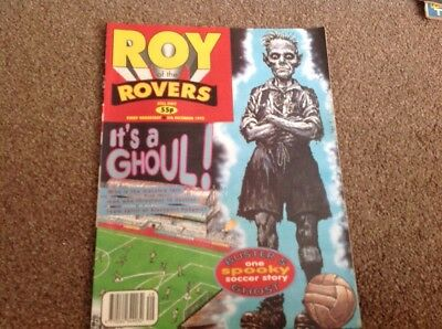 Roy Of The Rovers 5th December 1992