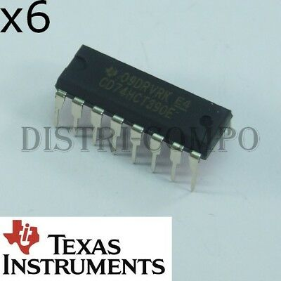 High-Speed CMOS 74HCT 390 Dual Decade Ripple Counter 74HCT390 DIL-16 124006