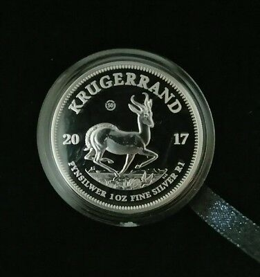 2017  1oz Krugerrand Fine Silver Proof - 50 Anniversary Coin