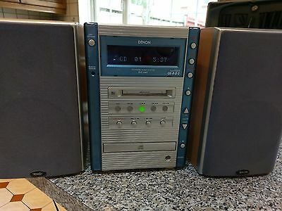 Denon HiFi System D-G1MD MD CD Tape Tuner Player Recorder & Mini Disc
