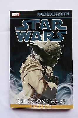 Star Wars The Clone Wars Vol. 1 Marvel Epic Collection Graphic Novel Comic Book
