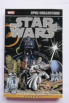 Star Wars Newspaper Strips Vol 1 Marvel Epic Collection Graphic Novel Comic Book