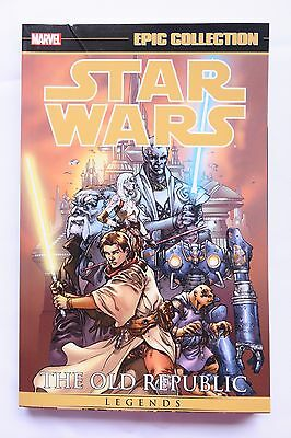 Star Wars The Old Republic Vol 1 Marvel Epic Collection Graphic Novel Comic Book