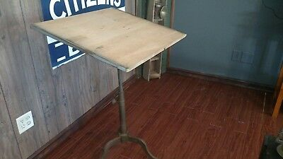 Antique Dietzgen Drafting Table Industrial Steampunk