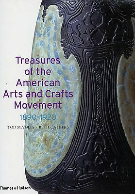 Art Crafts Pottery Furniture Metal Glass 1890-1920 / In-Depth Illustrated Book