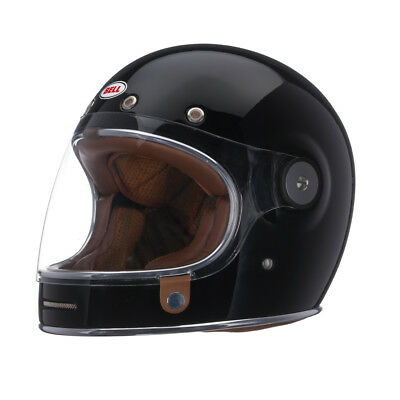 Bell Bullitt Solid Colors Retro Powersports Motorcycle Helmet