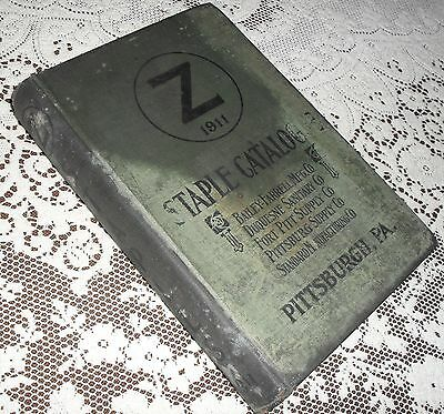 Staple Catalogue Z Advertising Plumbing Hardware 1911 Pittsburg Catalog Antique