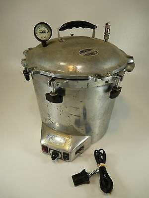 Portable Electric Steroclave No. 25X - All American Electric Steam Autoclave