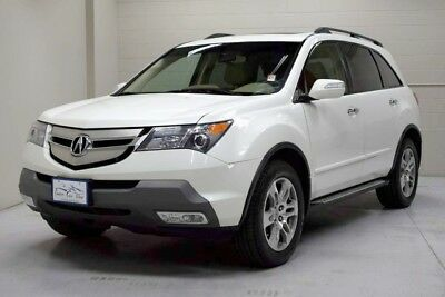 2007 Acura MDX Base Sport Utility 4-Door 2007 Acura MDX Tech Package Third Row Seating Navigation Rear Backup Camera