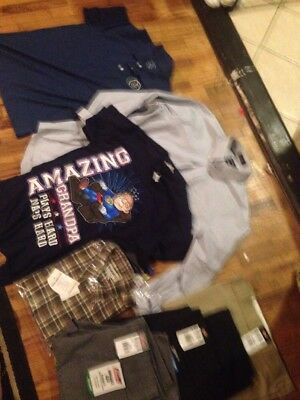 Wholesale Lot Of Brand New Mens Clothes. All NWT. Dickies, Stafford, Jeans