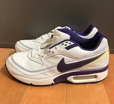 2013 Nike Air Max Classic Sz 13 BW VTG OG BLACKPERSIAN VIOLET 559605 051