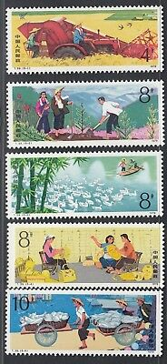 China 1979 - Mint never hinged stamps (MNH). Mi nr.: 1497-1501..... A5719