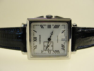 Louis Erard Automatic Elegante Herrenuhr 59132 Gents Watch Orologio Rare Top Ovp