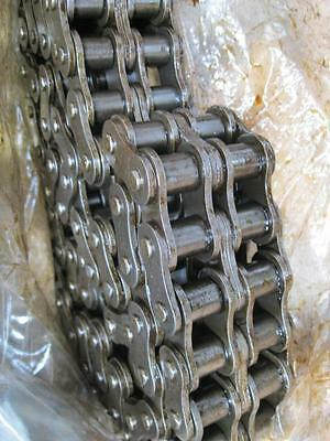 Link Belt Roller Chain RC80T-2 R14 10ft Rexnord NOS 120 pitches double NOS