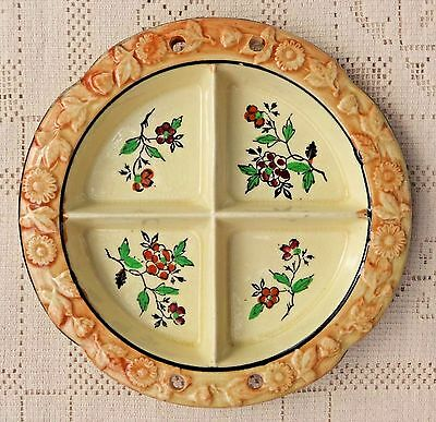 VINTAGE 1920's-30's HOTTA YU SHOTEN CO HAND PAINTED CERAMIC DISH - JAPAN