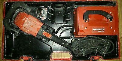 Hilti DG150 Concrete Grinder and DPC 20 Power Supply w/ Case - FREE SHIPPING