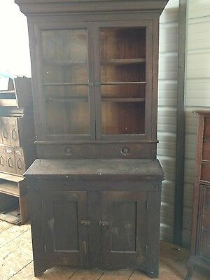 Late 1700s Walnut Secretary Desk