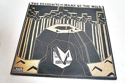 The Residents Mark Of The Mole Lp Vinyl Record Cad 10