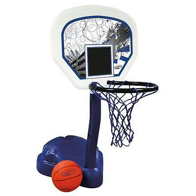 SwimWays Poolside Basketball Heavy Duty Poolside Basketball Set Ball Included