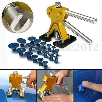 PDR Lifter Glue Puller Tab Hail Removal Paintless Dent Repair Tools Kits New