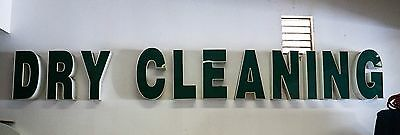 Dry Cleaner Store Front Sign