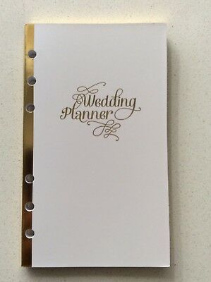 Recollections Creative Year Personal Planner Book WEDDING inserts fits Kikki K
