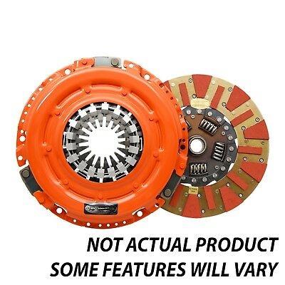 Centerforce DF505019 Dual Friction Clutch Pressure Plate And Disc Set